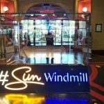 Sun Windmill Neon Flex
